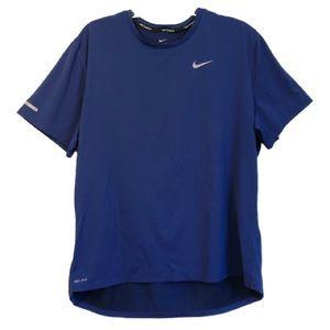 Nike Running Dri-Fit Blue T-Shirt